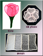 Needle lace course for beginners